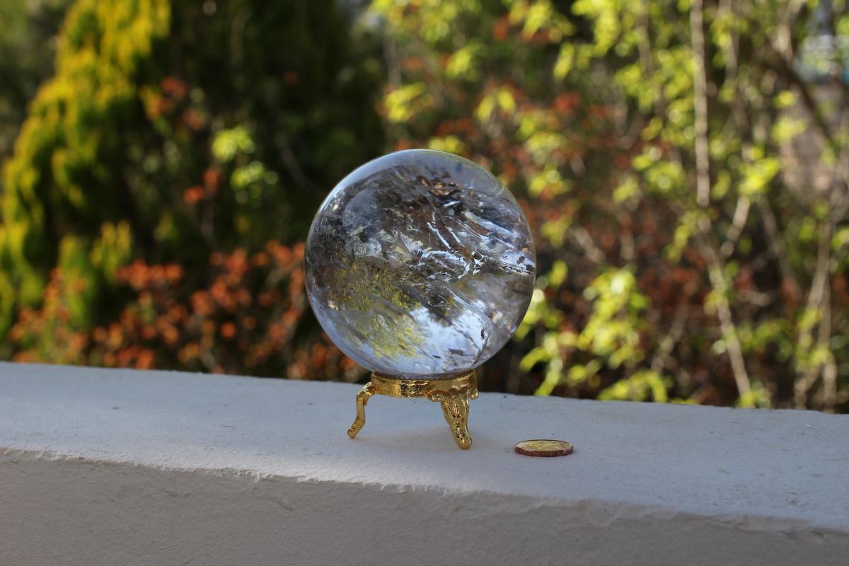 Large Sphere Quartz Rock Crystal Quartz Store