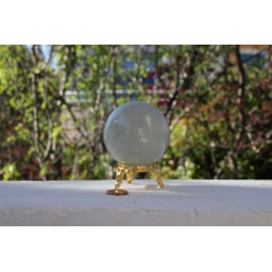 Grande sphere de Prasiolite