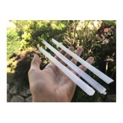 Bâton de sélénite blanche