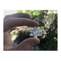 Merkaba rock crystal quartz