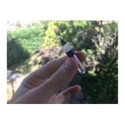 Pendentif Merkaba quartz cristal de roche