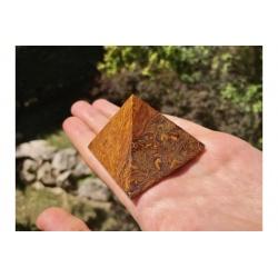 Pyramide de jaspe peau de serpent