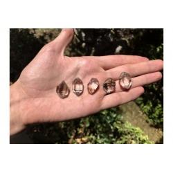Diamants de herkimer (qualité extra très pur)