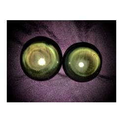 Sphère d'obsidienne oeil céleste (moyenne)