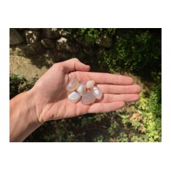 Agate blanche