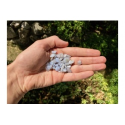 Calcédoine bleue