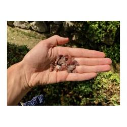 Quartz rutile tumbled stones