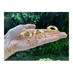 Support en métal doré