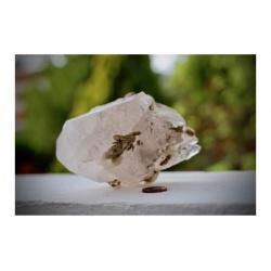 Spécimen mineral de calcite rose