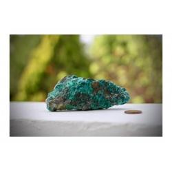 Chrysocole brute, specimen mineral