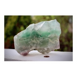 Morceau de fluorite, specimen mineral (1.5kg)
