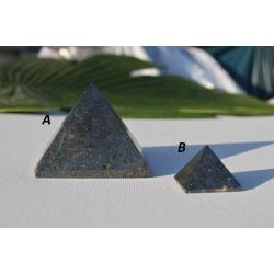Pyramid hematite