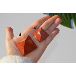 Pyramid of red jasper