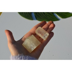Calcite polished optical