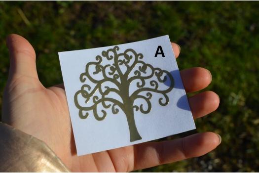 Stickers motif pour orgonites