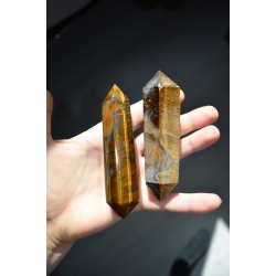 Tiger Eye double terminated