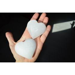 Coeur de selenite top qualité
