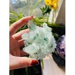 Quartz avec inclusion de chlorite (fantômes verts)