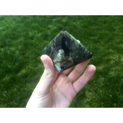 Great Pyramid of labradorite