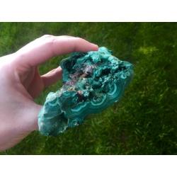 Large specimen of malachite