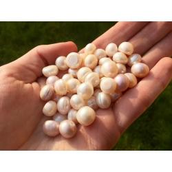 Perles naturelles (5x)