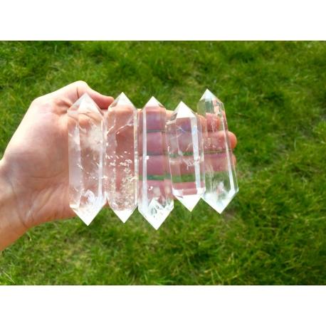 Grand quartz cristal de roche biterminé (HQ)