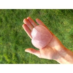 Heart rose quartz (large)