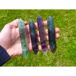 Great fluorite biterminated
