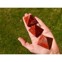 Pyramide de Jaspe Rouge